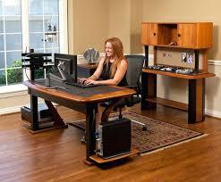 solid oak hidden home. Hidden Home Office Computer Desk The X Artistic Baumhaus  Mobel Solid Oak