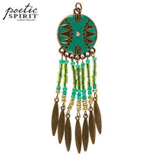 Hobby Lobby Dream Catcher Turquoise Enamel Dream Catcher Pendant Hobby Lobby 100 32
