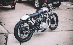 the end of all that was a newborn solid little aggressive caferacer that is definitely ready for the republic