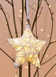 Weihnachtsstern ø 15 Cm Led Warmweiß Stern Weiß Deko Weihnachtsdeko Batterie