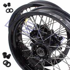 aliexpress com buy 3 5 17 5 0 17 supermoto complete wheels