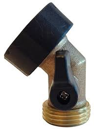 garden hose shut off valve. Heavy-Duty Solid Brass Angle Water Shut-off Valve Garden Hose Shut Off