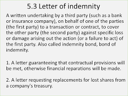 format of letter indemnity for lost instruments thepizza