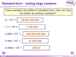 1 billion in standard form n1 place value ordering and rounding ppt download