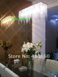 modern crystal chandelier light for dining room led crystal chandeliers square lamp rectangle living room lights curtain lights