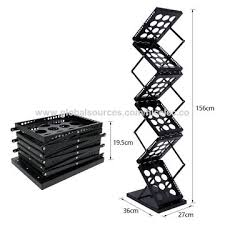 newspaper rack for office. China Display Office Book Rack Shelf Magazine Newspaper Folded Floor Propaganda Frame For U