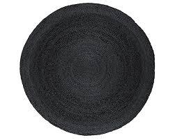 anji mountain amb0329 060r kerala round jute area rug gray 6 feet b00i7pimz0