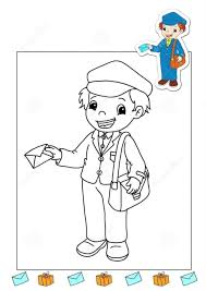 Small Picture Postman Coloring Coloring Coloring Pages