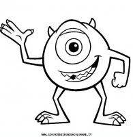 Disegni Da Colorare Monster Co Disegni Dei Cartoni Animati