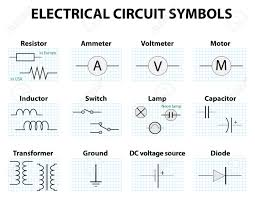 schematic circuit symbols the wiring diagram electrical circuit symbols nilza schematic