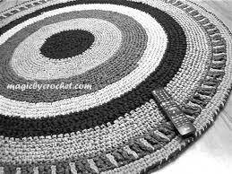 round rug rag rug nursery rug handmade rug home decor 5 ft round carpet no 002