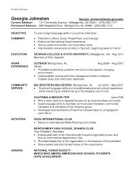 Resume Language Skills Sample Resume With Foreign Language Skills Describing Language Skills