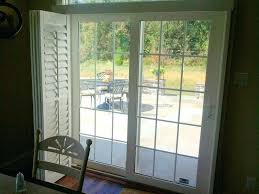 plantation shutter for sliding door plantation shutters reviews pictures s plantation shutters sliding door cost