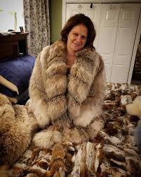 Fur fetish tease wife