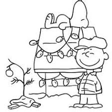 Small Picture Charlie Brown Christmas Coloring Pages Holiday Coloring Pages