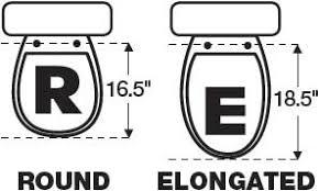 elongated bowl toilet dimensions. i\u0027m selling about 80% elongated. elongated bowl toilet dimensions n