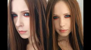 avril lavigne tutorial makeup orange eyes makeup ставим hd