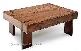 Soft Modern Bronze Base Coffee Table