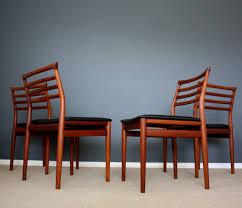 vintage 70s furniture. danish modern erling torvits teak dining chairs retro vintage mid century 50s 60s 70s photo 1 furniture