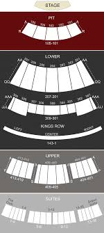 Verizon Theatre Grand Prairie Tx Seating Chart Stage