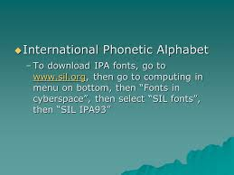 See phonetic symbol for a list of the ipa symbols used to represent the phonemes of the english language. Phonetics Class 1 Chapter The Phonetic Alphabet There Are 26 English Letters In English How Many Sounds Are There Nearly 40 Sounds Consonants Ppt Download