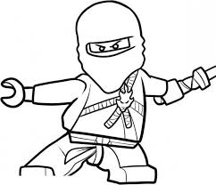 Small Picture Ninjago Coloring Pages Printable Coloring Home