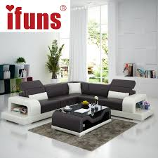 l shape furniture. Aliexpresscom Buy IFUNS Cheap Sofa Sets Home Furniture Wholesale White Leather L Shape Modern Design Recliner Chaise Corner Fr From Reliable