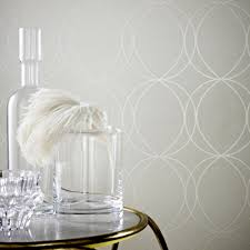 graham  brown white  mica savoy wallpaper  house of fraser