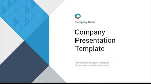 Company Presentation Template Ppt 10 Best Company Introduction Powerpoint Templates 2018