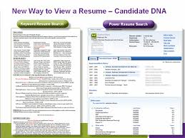 monster dna resume search engine