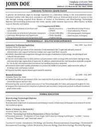 Lab Director Sample Resume Podarki Co