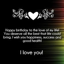 Love Birthday Quotes Stunning I Love You Happy Birthday Quotes And Wishes Hug48Love