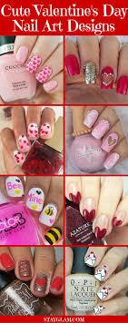 35 Cute Valentine's Day Nail Art Designs | StayGlam