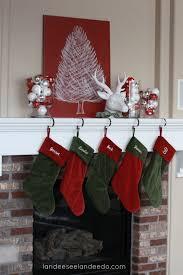 Christmas Decorations At B And Q : Christmas mantel decor landeelu