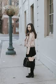 new orleans street style blanknyc leather jacket