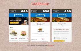 website advertisement template cookhouse a mobile app bootstrap responsive web template