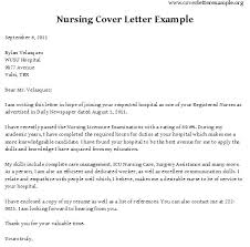 Nursing Cover Letters Examples Example Nursing Cover Letter ...