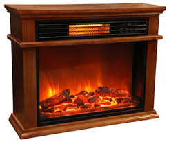 Lifesmart 10001500W Electric Infrared Fireplace Heater Reviews Infrared Fireplace Heater