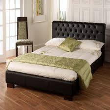Limelight Aries Faux Leather Bed Frame - Black