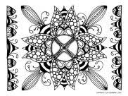 Coloring pages for children of all ages with drawings to print and color. Mandalas Art Therapy Coloring Pages For Adults