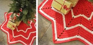 Christmas Tree Skirt Crochet Pattern Cool Crocheted Christmas Tree Skirt [FREE Crochet Pattern]