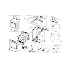 Samsung model dv5471aep xaa 0000 residential dryer genuine parts rh searspartsdirect