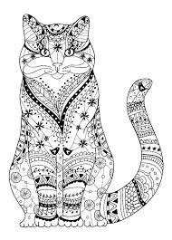 Free Cat Coloring Pages Cat Printable Coloring Pages Coloring Pages