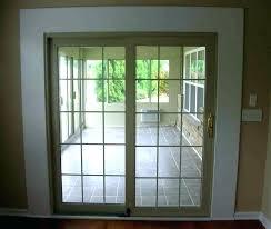 panel sliding french patio doors 3