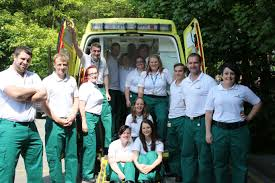 paramedic science foundation degree students on the road to success west midlands ambulance service