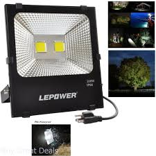 Super Bright Led Flood Light Details About 100w Led Flood Lights Super Bright Outdoor Security Lights 250w Hps