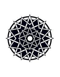 Keltská Hvězda Nalepovací Tetování