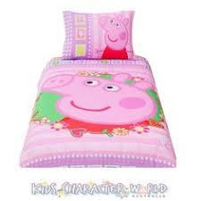 ideas en tela de pepa pig - Buscar con Google | pepa | Pinterest ... & Peppa Pig Single Bed Quilt Cover Set $35.95 (eBay: kidscharacterworld2013) Adamdwight.com