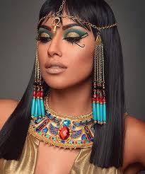 the amazing zuleykasilver as cleopatra makeup by mua pion