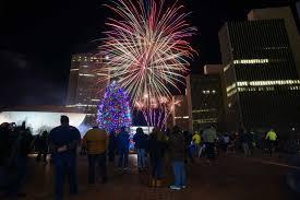 Empire State Plaza Christmas Tree Lighting Albany Celebrates At Tree Lighting